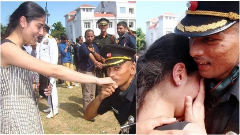 Indian Army Officer Proposes His Girlfriend During Pipping Ceremony At Officers Training Academy, Chennai