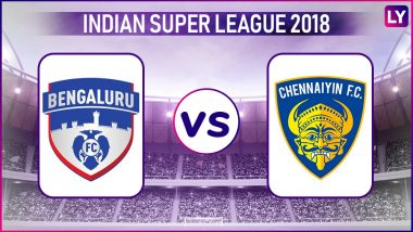 Bengaluru FC vs Chennaiyin FC, ISL 2018–19 Live Streaming Online: How to Get Indian Super League 5 Live Telecast on TV & Free Football Score Updates in Indian Time?