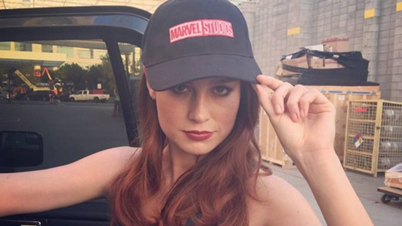 Brie Larson Confirms To Release Her Look As Captain Marvel Tomorrow, Courtesy Her Cheeky Twitter Exchange With Entertainment Weekly - Read Tweets