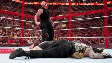 WWE Hell in a Cell 2018 Results and Highlights:  Brock Lesnar Disrupts Braun Strowman vs Roman Reigns Match; Becky Lynch Becomes New SmackDown Women's Champion