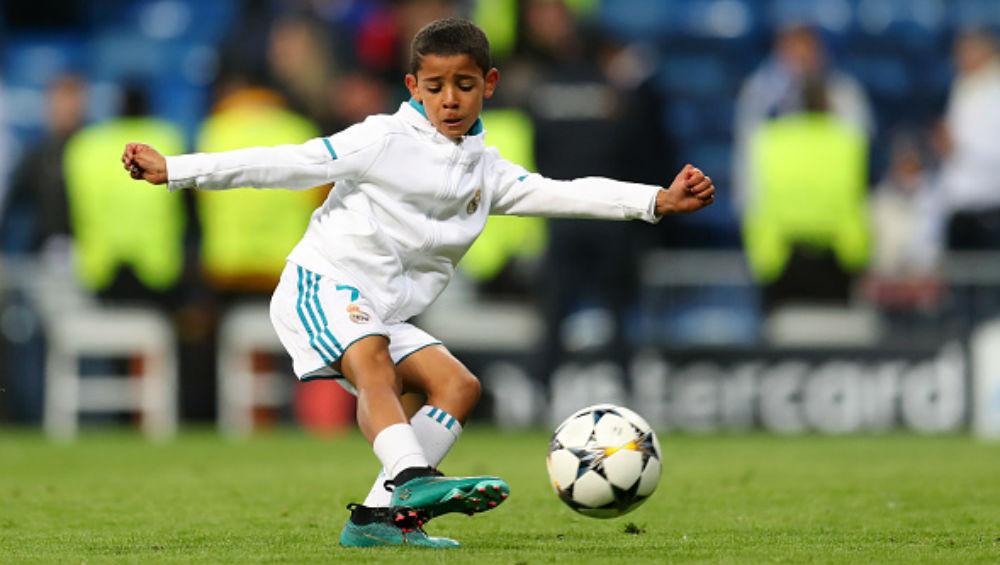 Cristiano Ronaldo Junior Scores 58 Goals in 28 Games at Juventus Under 9's