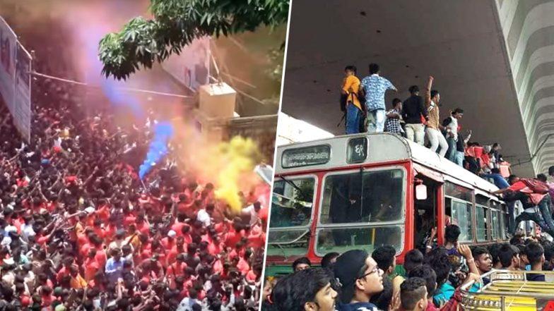 Ganeshotsav 2018: Chinchpokli cha Chintamani Aagman Sohala Sees Indiscipline, Molestation And Traffic Snarls
