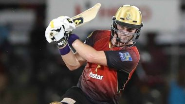 CPL 2018: Colin Munro Scores 68 off Just 38 Balls for Trinbago Knight Riders in the Final Against Guyana Amazon Warriors, Watch Video of TKR's Team Celebrations