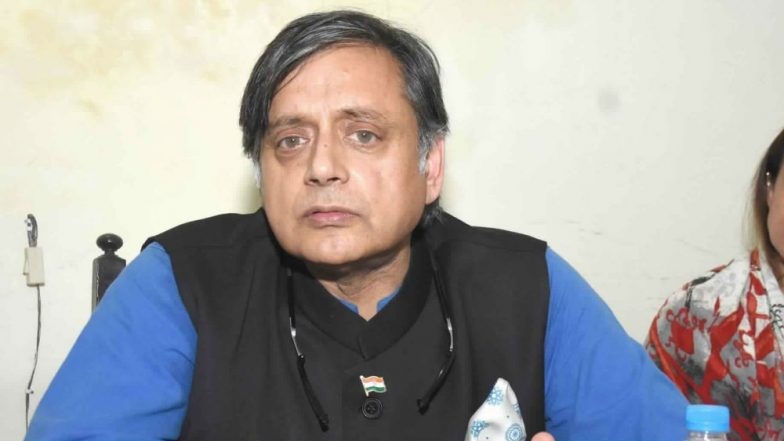 Unemployment India's Biggest Problem, More Investment Needed in Tourism Sector: Shashi Tharoor