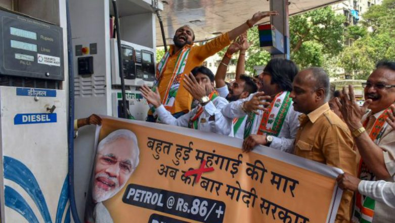 Bharat Bandh on September 10: After SP, NCP and DMK, MDMK Extends Support to Congress' Call for Nation-wide Protest Over Rising Fuel Prices