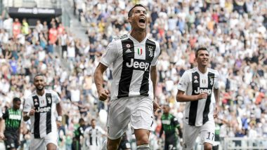 Cristiano Ronaldo Scores First Goal for Juventus as Italian Champions Beat Sassuolo 2-1
