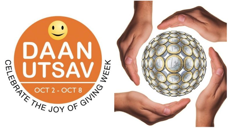 Daan Utsav 2018: Know About the Joy of Giving Week Which Starts on October 2