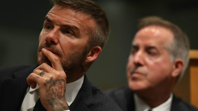 David Beckham Busted For Talking on the Phone While Driving His Bentley, To Be Kept Off Roads for 6 Months
