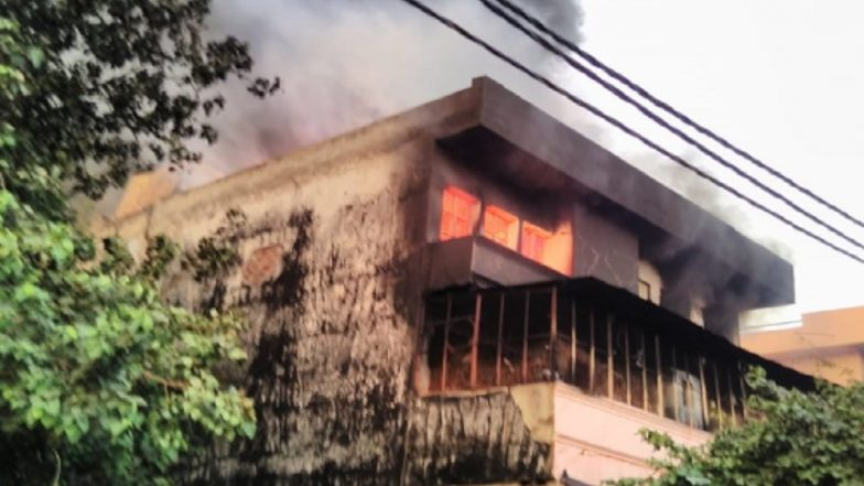 Delhi: Fire Breaks Out at Factory in Udyog Nagar, 30 Fire Tenders at Spot