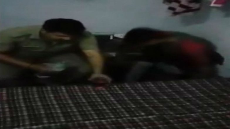 Uttar Pradesh: Three Cops Suspended After a Video of Them Consuming Liquor During Duty Goes Viral
