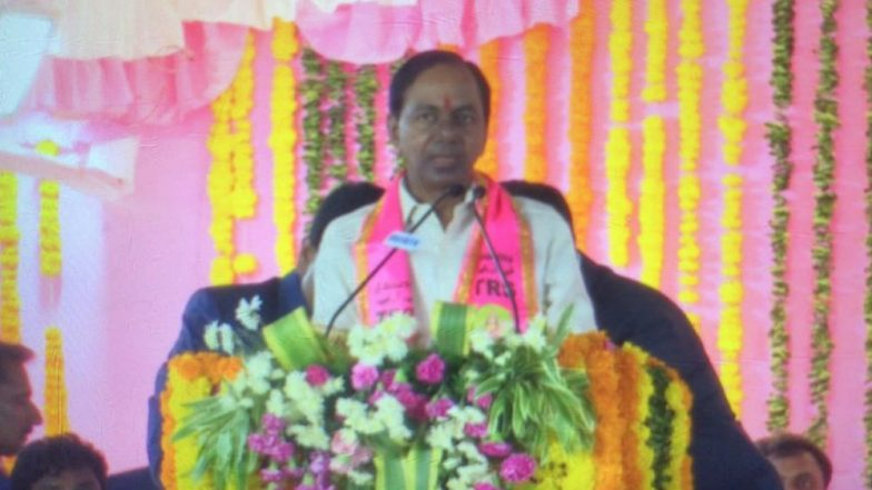 Telangana: K Chandrashekar Rao Announces Rs 10 Lakh Each to 2000 Families of Chintamadaka Village