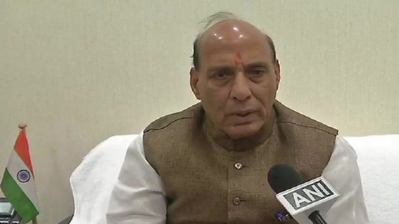 'Jammu and Kashmir Ours, No Power Can Snatch It From Us' Says Rajnath Singh Ahead of 2018 J&K Municipal Polls