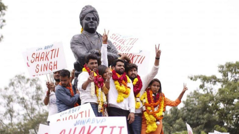 DUSU Elections Results 2018: ABVP's Ankiv Basoya Wins President Post, Shakti Singh and Jyoti Choudhary Elected as VP & Joint Secretary