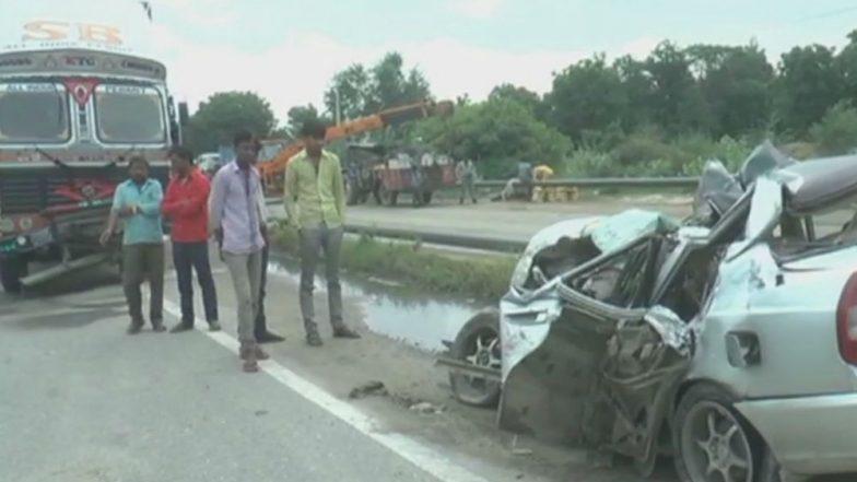 Haryana: Six Dead After Speeding Car Collides With Truck in Rewari District