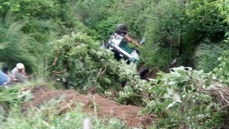Himachal Pradesh: Two Dead, 20 Injured After State Transport Bus Falls Into a Gorge Near Chintpurni