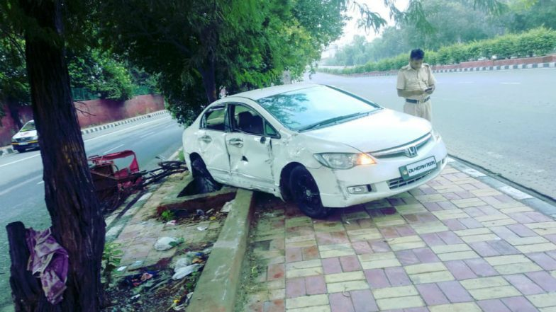 Delhi Shocker: Two Killed After Car Runs Over Them on Footpath Near Rajouri Garden, Accused Arrested