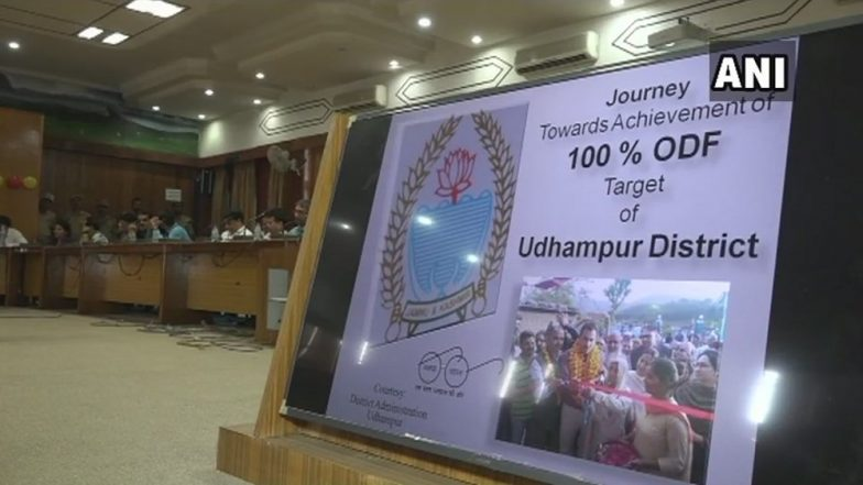 Swachh Bharat Mission: Udhampur Declared Open Defecation Free; 75,000 Toilets Constructed In 230 Panchayats