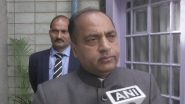 Himachal Pradesh CM Jai Ram Thakur's Five Security Personnel Test COVID-19 Positive