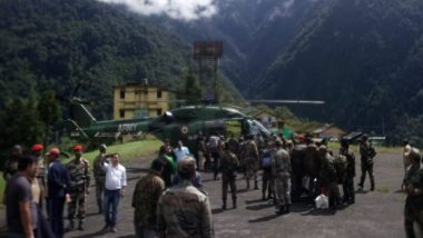 Sikkim Rains: Indian Army And Air Force Airlifts Tourists Stranded In Rain-Hit Regions; Evacuation Operations Underway