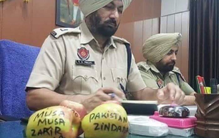 Apples With 'Pakistan Zindabad' & Anti-National Slogans Found From Kotkapura Of Punjab's Faridkot, Police Registers Case: Watch Video