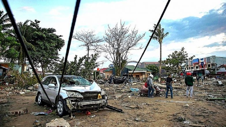Tsunami Havoc in Indonesia: 832 People Lost Lives after Earthquake Rocked Island Country On Friday; Death Toll Expected To Rise