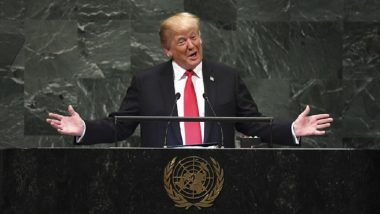 UN General Assembly 2018: US President Donald Trump Praises India as Free Society, Successfully Lifting Millions Out of Poverty