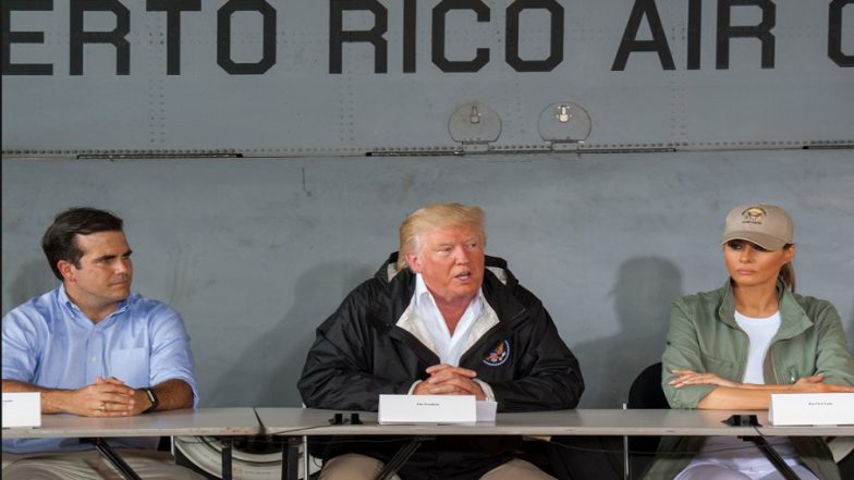 Donald Trump Rejects Puerto Rico's Storm Death Toll, Says Numbers Made up by Democrats