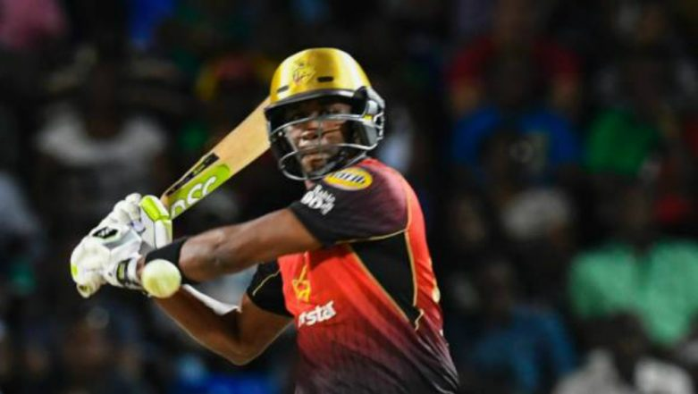 CPL 2018 Video Highlights: Dwayne Bravo Hits 5 Consecutive Sixes in an Over in Trinbago Knight Riders' Win vs St Kitts and Nevis Patriots Match
