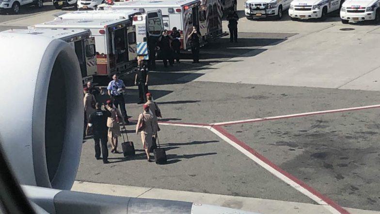 Emirates Airline Flight EK203 Quarantined At JFK Airport After 100 Passengers Fall Sick on Board