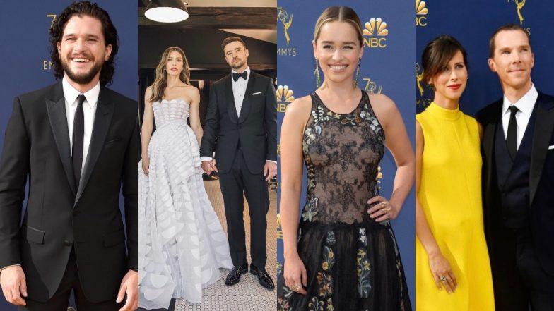 70th Emmy Awards 2018 Red Carpet: Benedict Cumberbatch, Emilia Clarke, Kit Harington, Jessica Biel, Justin Timberlake Lift Up Our Fashion Senses!