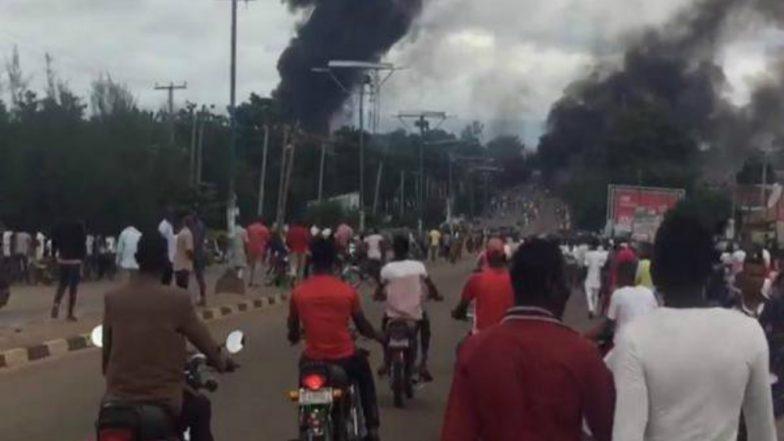 Nigeria Gas Tank Explosion: 18 People Dead, 40 Injured, Dozen Vehicles Burns in Nasarawa