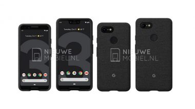 New Google Pixel 3 and Pixel 3 XL Official Render Images Leaked Online Ahead of October 9 Global Launch