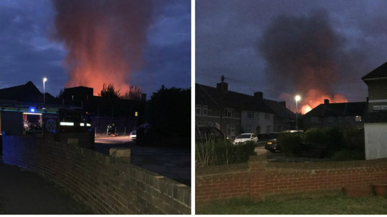 London: Fire Erupts at Primary School in Dagenham, 12 Fire Engines Rushed to Spot