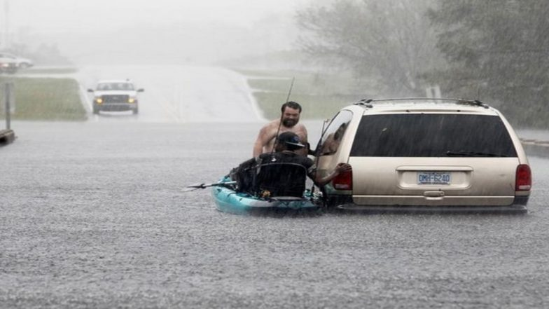 Travel snarled by flooding as Carolinas size up Florence's damage