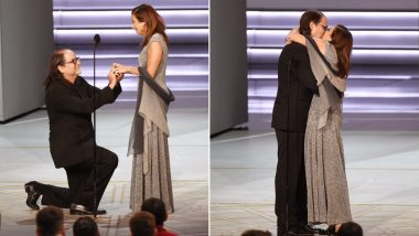 Emmy Award 2018 Winner Glenn Weiss Proposes His Girlfriend Live on Stage, Watch Aww-dorable Video