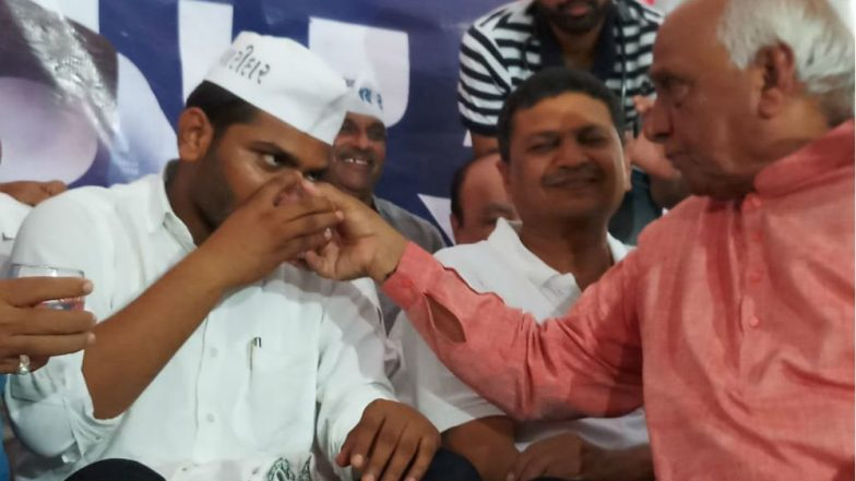 Hardik Patel Breaks His 'Fast Unto Death' as Gujarat Government Remains Adamant