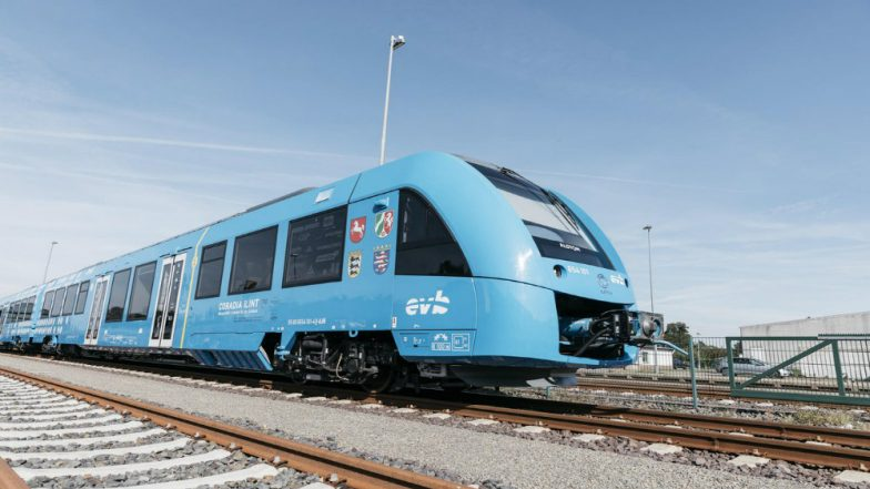World's First Hydrogen-powered Train Begin Operating in Germany