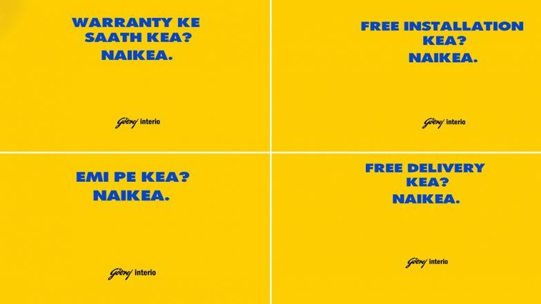 Godrej Interio's Latest Ads Take a Dig at IKEA, Smart Ambush Marketing Strategy to Grab Eyeballs
