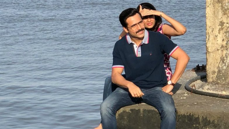 What Is Emraan Hashmi Doing With This Mystery Girl On Mumbai Seafront? View Pics!