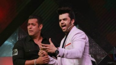 Salman Khan and Maniesh Paul's Mad Jugalbandi Sets The Stage On Fire!