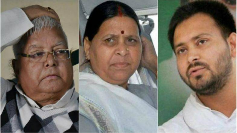IRCTC Scam: Delhi Court Grants Bail to Lalu Prasad's Wife Rabri Devi, Son Tejashwi Yadav in Indian Railway Catering and Tourism Corporation Case