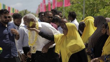 In Massive Upset, Maldives' Opposition Leader Ibrahim Mohamed Solih Claims Election Victory