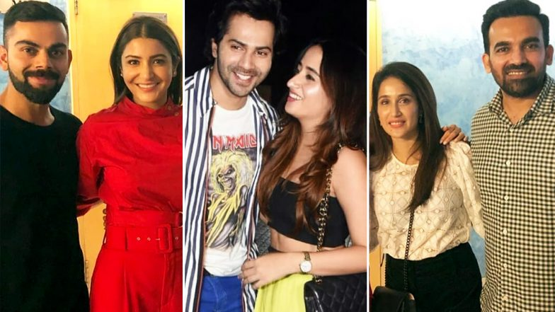 Anushka Sharma-Virat Kohli, Varun Dhawan-Natasha Dalal, Sagarika Ghatke-Zaheer Khan - Who Was The Best Dressed Couple At Sui Dhaaga Screening?