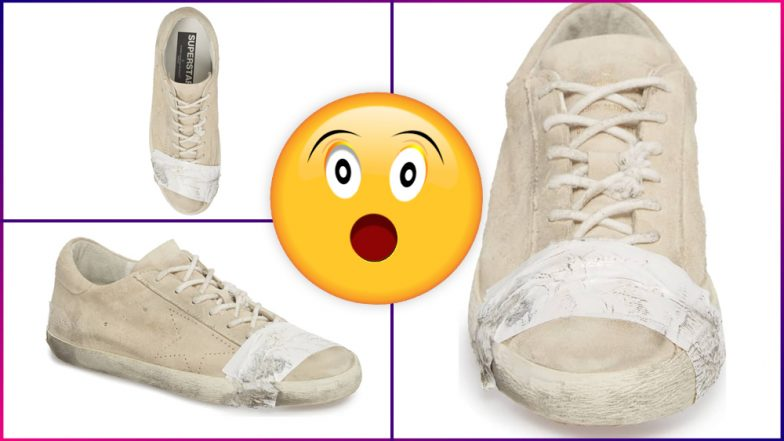 67e74965a3e Nordstorm is Selling  Taped Up  Sneakers for Rs 41000! Netizens are Losing  Their