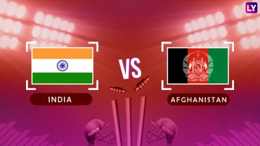 Asia Cup 2018 Date and Time: Today's Game is India vs Afghanistan, Get Free  Live Streaming Online and Cricket Match Score Details | 🏏 LatestLY