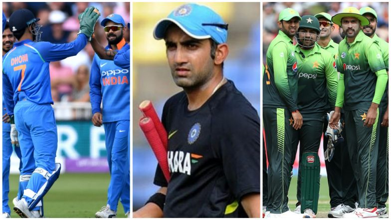 India vs Pakistan at Asia Cup 2018: Gautam Gambhir Questions Selective Ban on Cricketing Ties with Arch Rivals