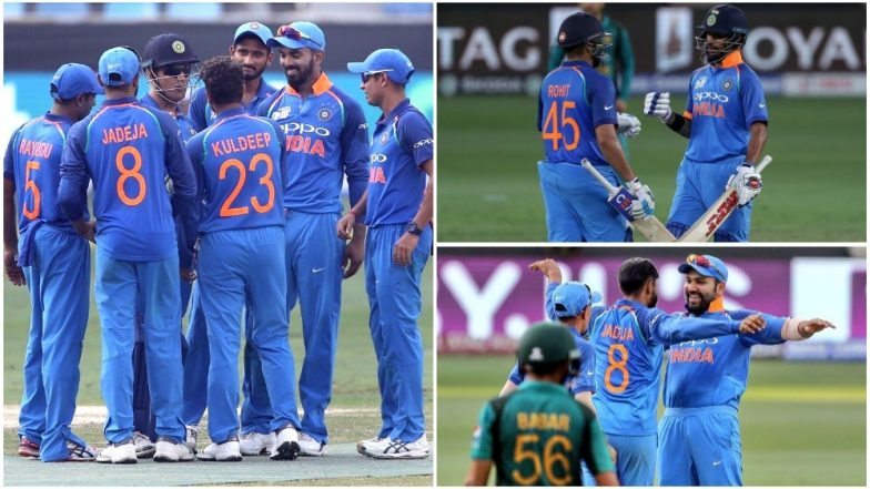 India's Road to Asia Cup 2018 Final: Sans Virat Kohli, Rohit Sharma's Men in Blue Put On A Great Show, Ready For Final Frontier at Dubai!