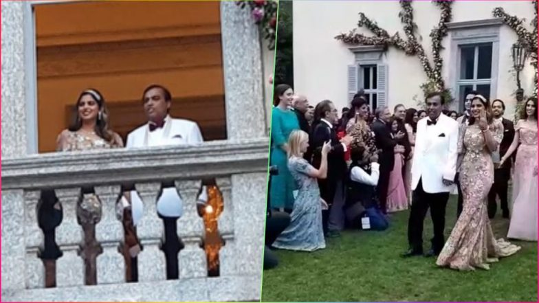 Isha Ambani and Mukesh Ambani's Video From Her Engagement Bash Proves a Father-Daughter Bond Is the Best One Ever