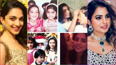 Isha Ambani Childhood Photos Posted by Bestie Kiara Advani to Wish Her on Engagement With Anand Parimal at Lake Como in Italy