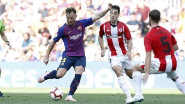 Barcelona vs Athletic Bilbao, La Liga 2018-19 Video Highlights: Late Goal by Munir Rescues Spanish Giants Against Bilbao